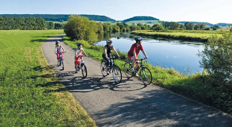 Donauwörth-Passau kerékpártúra