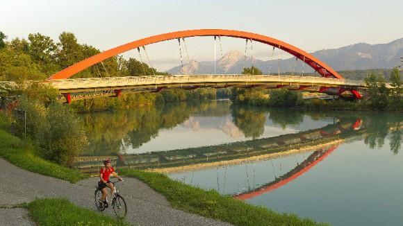 Dráva folyó menti kerékpárút