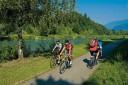 Kerékpártúra a Dráva folyó mentén Ausztria - sportos