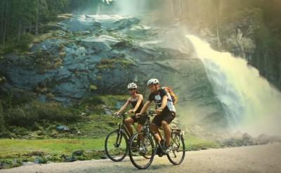 Krimml vízesés Salzburg Passau élménytúra
