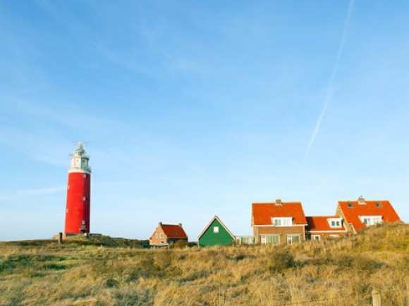 A Holland Fríz-szigetek között