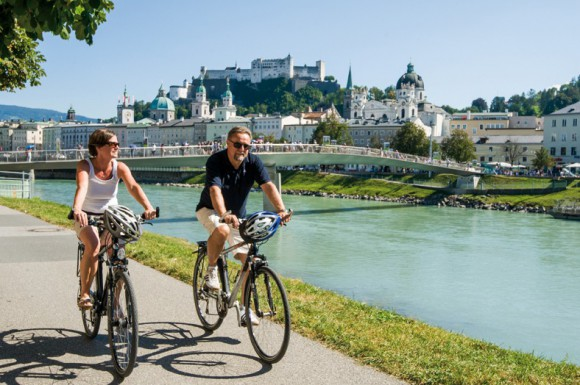 Alpok Adria kerékpártúra Ausztria - felső szakasz