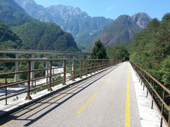 Millenniumi vasút kerékpártúra - komfort