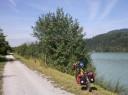 Dráva folyó mentén Ausztriában - kényelmesen